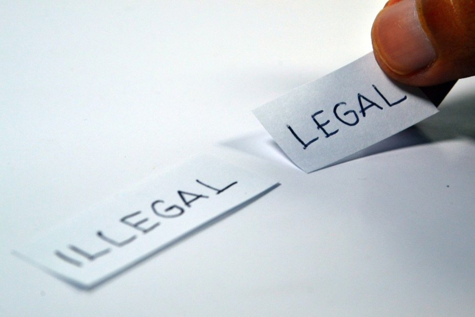 legal, illegal, choose